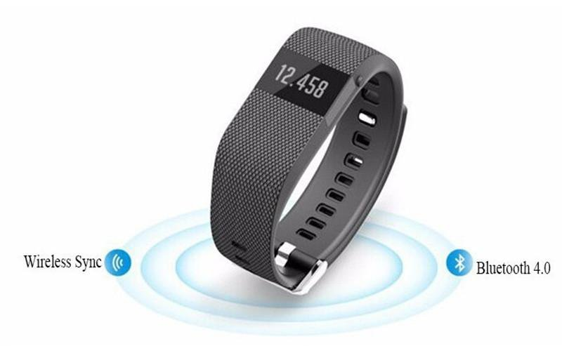 NEW! Bluetooth 4.0 Fitness Tracker Heart Rate Monitor Pedometer Sleep Calorie Counter