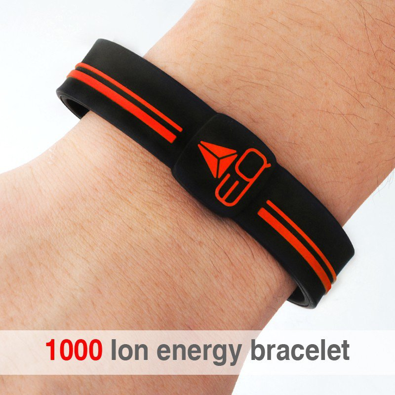 1000 ion Energy Bracelet Sport Silicon Wrist Band