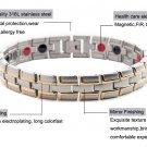 Healing Magnetic Bracelet 316L Stainless Steel Health Elements(Magnetic,FIR,Germanium) Bracelet