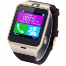Aplus GV18 Smart Watch Phone with Camera Sync Call Remind NFC Pedometer Sleep Tracker - Gold
