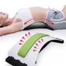 Magic Stretcher Back Massager Acupuncture Body Lumbar Support Spine Massager