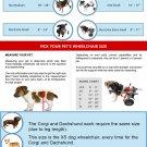 BEST FRIEND MOBILITY DOG WHEELCHAIR XS EXTRA SMAL LALUMINUM K9 DOGGIE CART KART