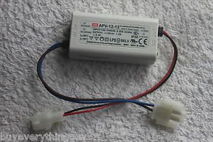 Mean Well APV-12-12 12V 1A Water And Dust-proof Power Supply LED Driver New