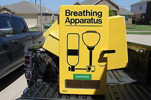 Encon Wall Cabinet Breathing Apparatus Protective Universal SCBA -Case Only 6-16