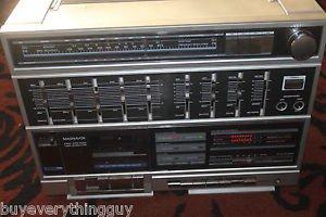 Vintage RARE MAGNAVOX D 8643/17 made in Austria  BOOMBOX SHORT WAVE RADIO