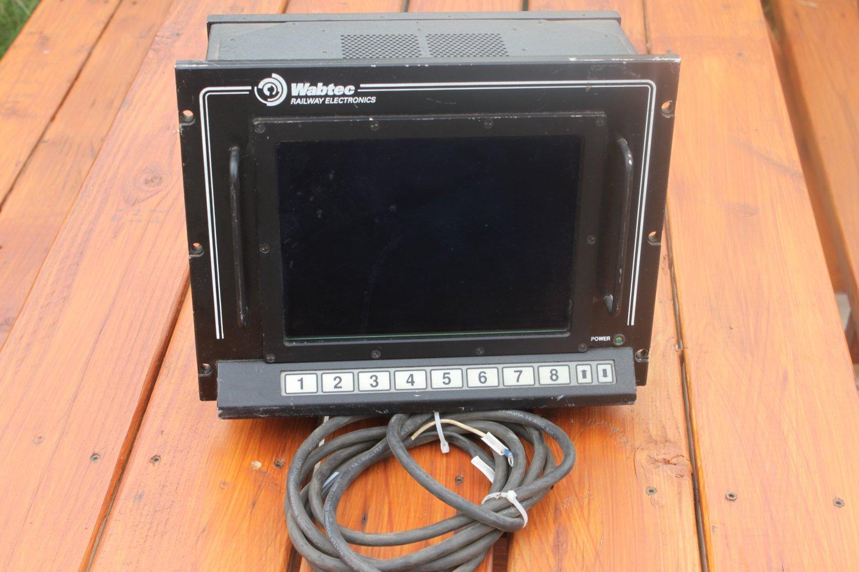 Wabtec Railway Electronics Model 22495p control box - As Is-Lot auction Find