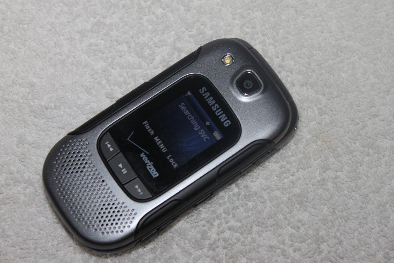 Samsung Convoy 3 SCH-U680 Verizon Rugged Military Designed Flip Phone Black