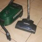 ORECK DUTCH TECH DTX1200B CANISTER vacuum Power Brush-Tested-works