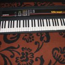 Ensoniq Mirage DSK 61 key Vintage keyboard-Powers On-Attic Find As Is