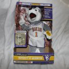 ANIMATED SINGING HUSKY MASCOT -UNIVERSITY OF WASHINGTON ~COLLEGE SPORTS-NEW