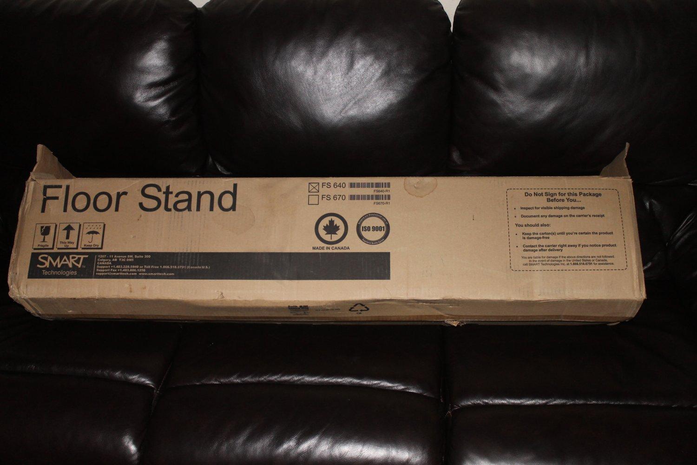Smart Board FS640 FS640-R1 Mobile Floor Stand for SB640 Rare New 12/17