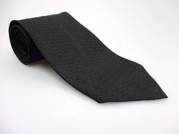 KETCH Men's New Polyester Tie BLACK NWOT Necktie Ties SO0222