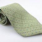 Men's New SAVILE ROW 100% Silk Tie Green NWOT Necktie Ties GR091