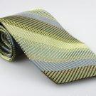 Men's New SIENA COLLEZIONE 100% Silk Tie Green NWOT Necktie Ties GR094