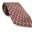 DANIEL CRAIG Men's New Tie Burgundy Gray NWOT Necktie Ties R0187