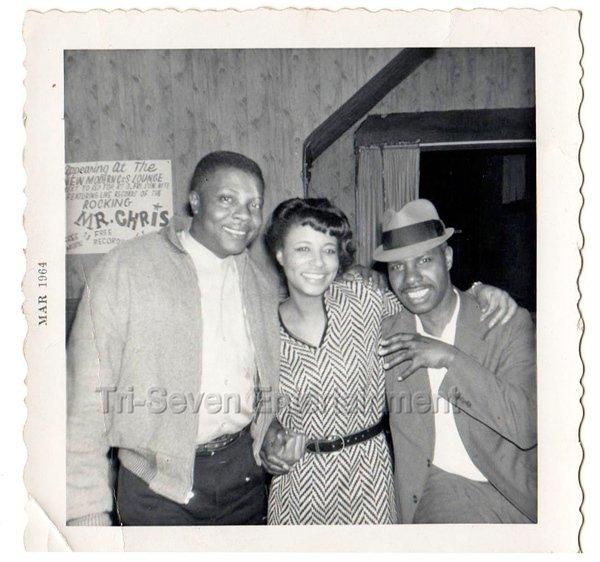 1960s Vintage Pretty African American Woman Black Friends Men People Old Photo
