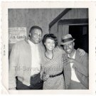 1960s Vintage Pretty African American Woman Black Friends Men People Old Photo