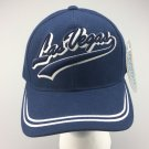 New Baseball Cap LAS VEGAS City Curved Blue Adjustable Velcro Hat Men's Unisex