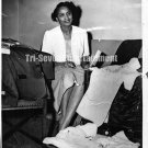 Vintage African American Pretty Beautiful Woman Old 8x10 Photo Black Americana