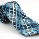Men's New ALEXANDER JULIAN COLOURS Tie Blue Black White NWOT Necktie Ties GR0117