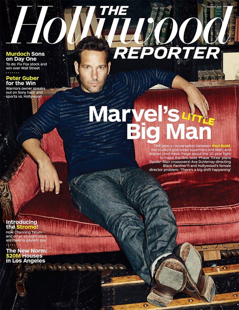 Hollywood Reporter Magazine - MARVEL'S LITTLE BIG MAN - JULY 3-17, 2015 - NEW