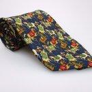 SALVATORE FERRAGAMO Men's New 100% Silk Tie HORSES NWOT Necktie Ties ST0218