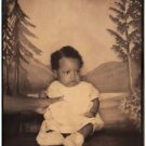 Vintage African American Adorable Baby Boy Cute Old Photo Booth Black Americana