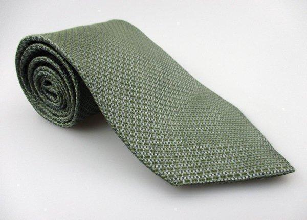 Men's New STAFFORD EXECUTIVE 100% Silk Tie Green NWOT Necktie Ties GR0116