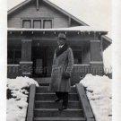 1930s Vintage Affluent African-American Man in Suit Top Hat Photo Black People