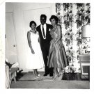 Vintage African American Photo Woman Women Family Men People Old Black Americana