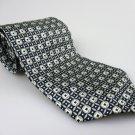 Men's New STONEHENGE 100% Silk Tie Olive Green NWOT Necktie Ties BWG075