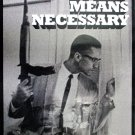 Malcolm X By Any Means Necessary 18x24 Poster with Bio African American