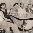Vintage African American Group Old Photo Men Women Table Black Americana People
