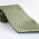 Men's New BILL BLASS NEO 100% Silk Tie Green NWOT Necktie Ties GR097