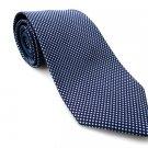 TOMMY HILFIGER Men's New 100% Silk Tie Blue White Polka NWOT Necktie Ties BL0159