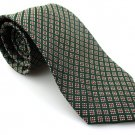 Men's New LANDS' END 100% Silk Tie Green NWOT Necktie Ties GR0115