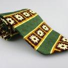 Men's New CHARLESTON 100% Silk Tie Green Floral NWOT Necktie Ties GR088