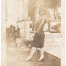 1920s Antique African-American Young Woman Photo Finger Waves Black People USA
