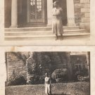 1936 Antique African-American Woman Front of Mansion Photo Black People (LOT 2)