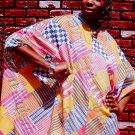 1970 African American Woman Dashiki Dress 8x10 Photo Original Black Americana