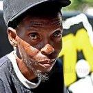 African-American Man 8x10 Photo Yankee Cap Black People Color Street Original