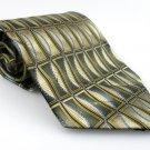 Men's New TOWNCRAFT Tie Olive Green Brown NWOT Necktie Ties GR0104