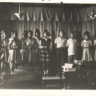 Vintage African American Photo Young Students Class School Black Americana