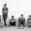 Punk Rock Kids Teens Photo - Black and White - 8X12