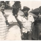1940s African American Pretty Women Man Hat Old Group Photo Black People Vintage