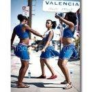 African American BLACK GIRLS DANCING - 8.5x11 Photo CHEERLEADERS Original Color