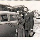 1940s Pretty African American Woman Handsome Man Vintage Photo Black Americana