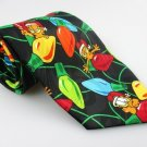 Men's New GARFIELD CHRISTMAS Paws Addiction Tie Holiday NWOT Necktie Ties ST0124