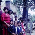 1980 Vintage African American Family 8x10 Church Photo Original Black Americana