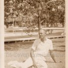 1930s Antique Handsome Affluent African-American Man Relaxing Photo Black People